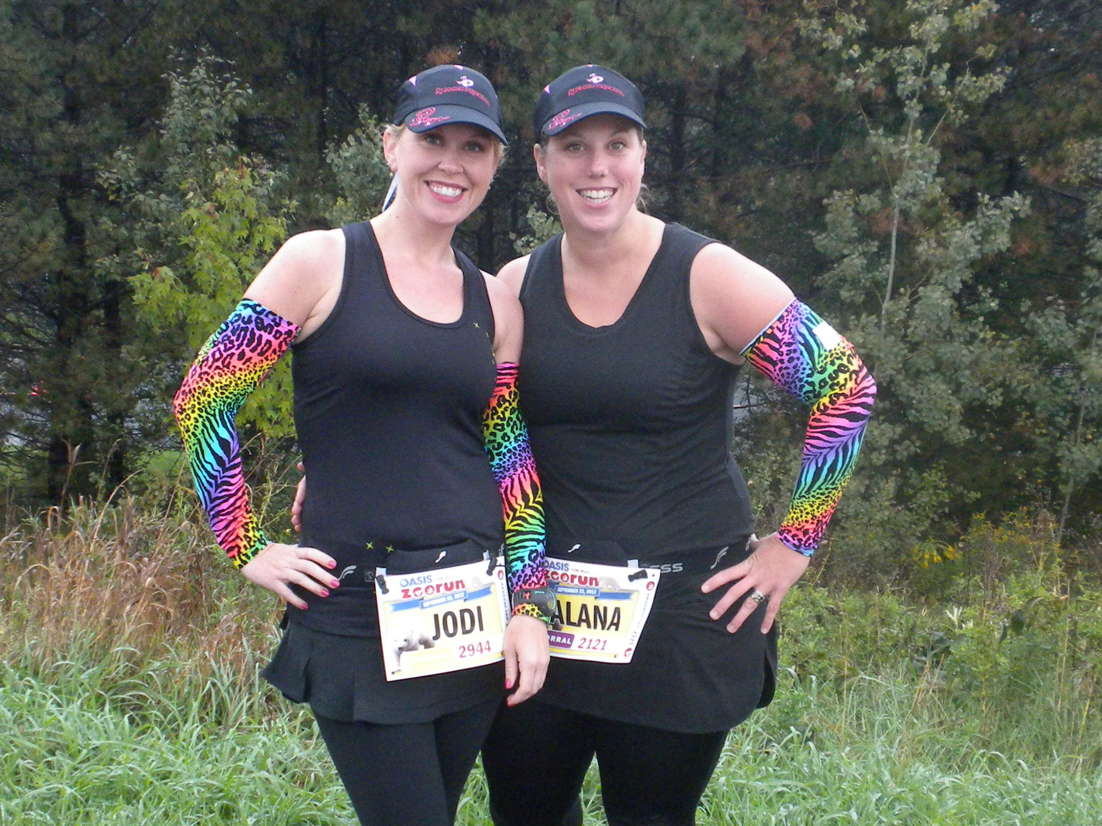 Become a runner, and you too can wear coordinated, adorable outfits with your BRFs.