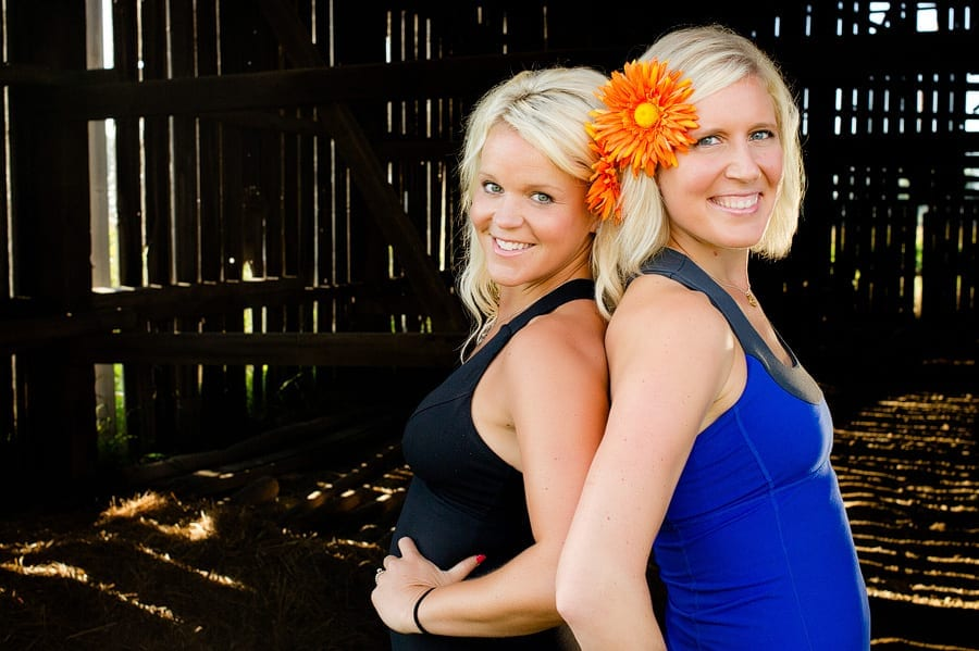Tori and Mel: mother runners, friends, and business partners.