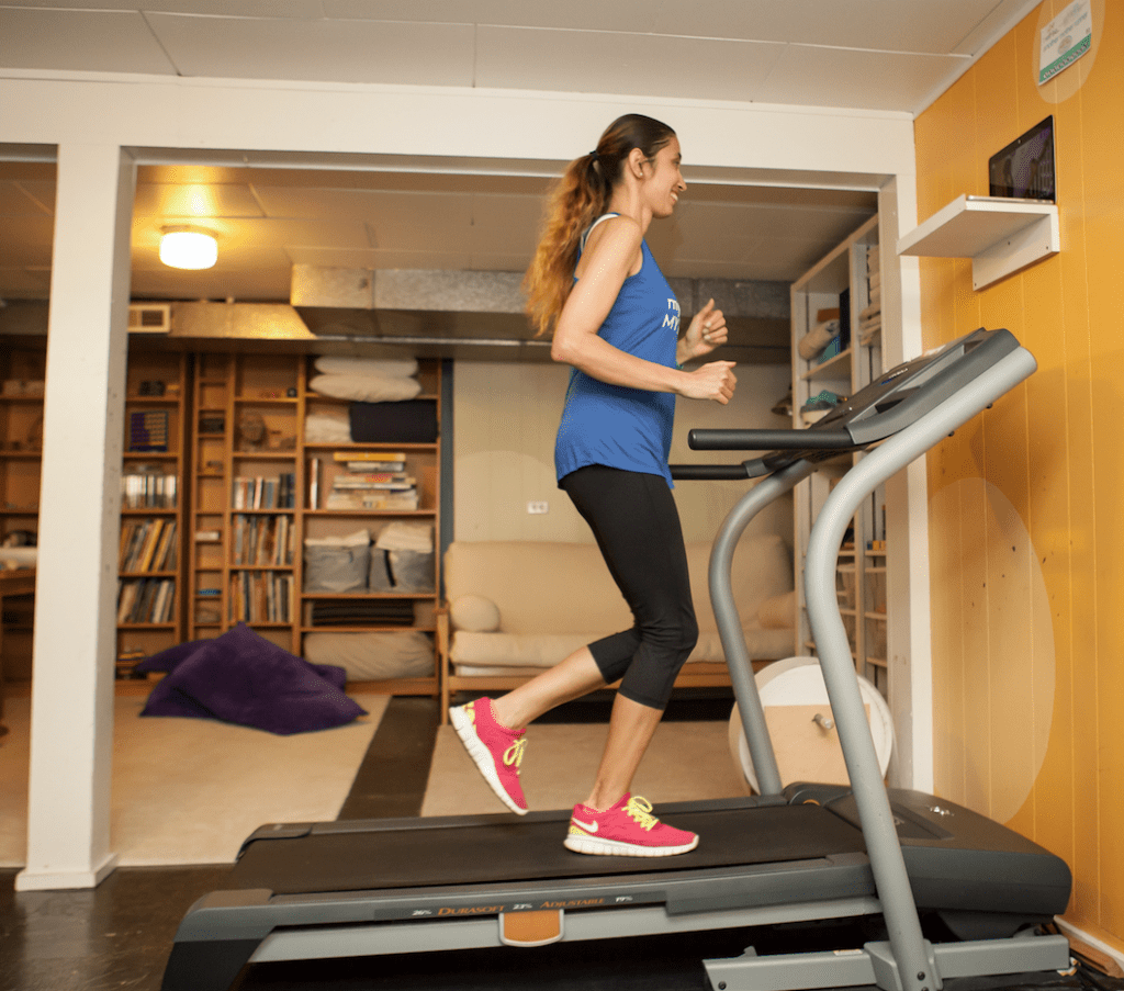best tv for treadmill
